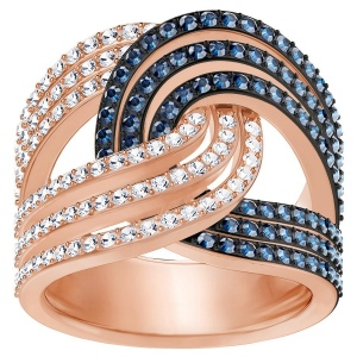 Pierścionek SWAROVSKI - Lemon Knot Ring 5409190 58
