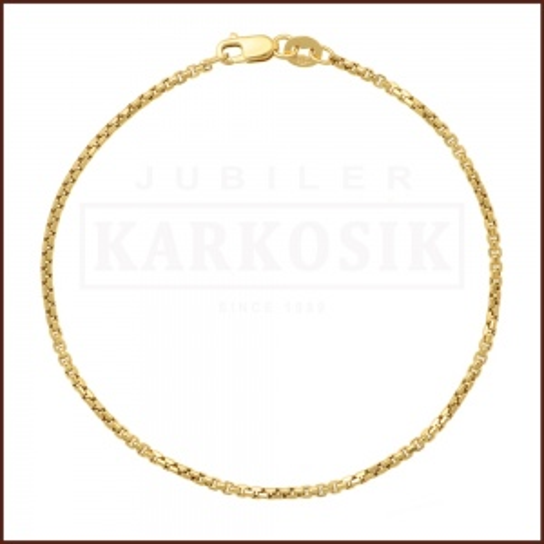 Złota Bransoletka Ankier 19cm pr.585