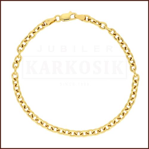 Złota Bransoletka Ankier 20cm pr.333