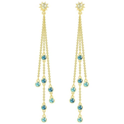 Kolczyki SWAROVSKI -Last Summer Pierced Earrings 5379718