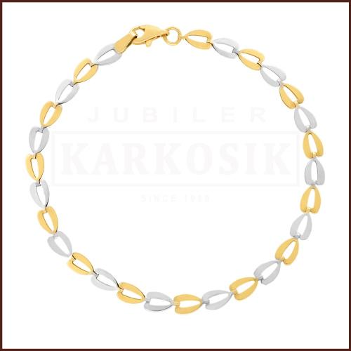 Złota Bransoletka 20cm pr.585