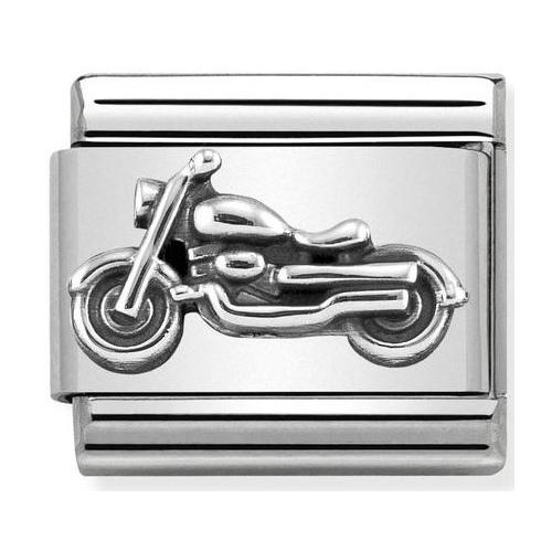 Nomination -  Link 925 Silver 'Motocykl Vintage' 330101/32