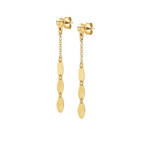Kolczyki Nomination Rose Gold - Armonie 146906/011