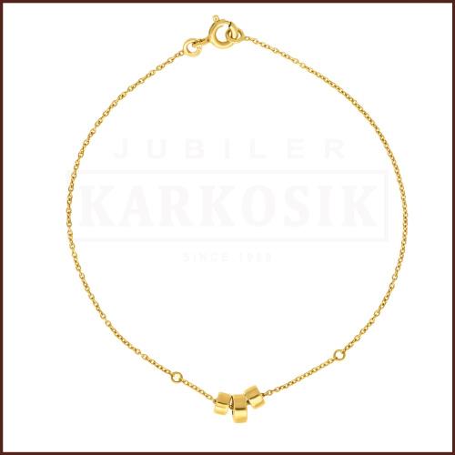 Złota Bransoletka 18cm pr.585