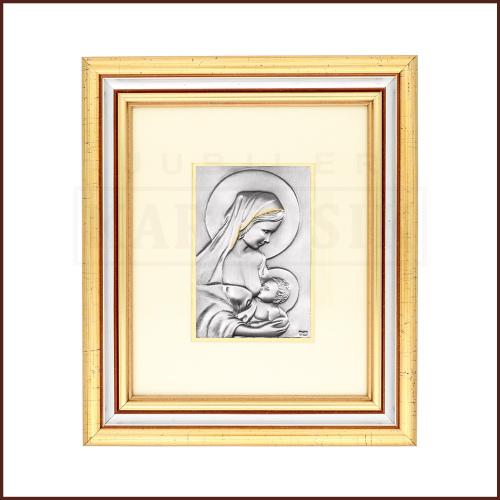Srebrny Obrazek Święty Jan Paweł II