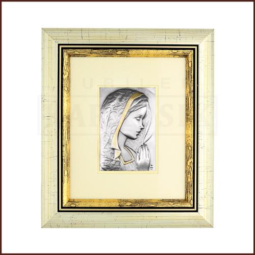 Srebrny Obrazek Madonna Ostrobramska