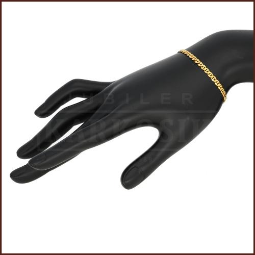 Złota Bransoletka Gucci 20cm pr.585