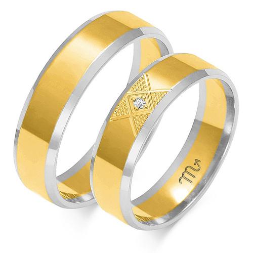Obrączki ślubne Złoty Skorpion wzór OE-227 5mm pr. 585