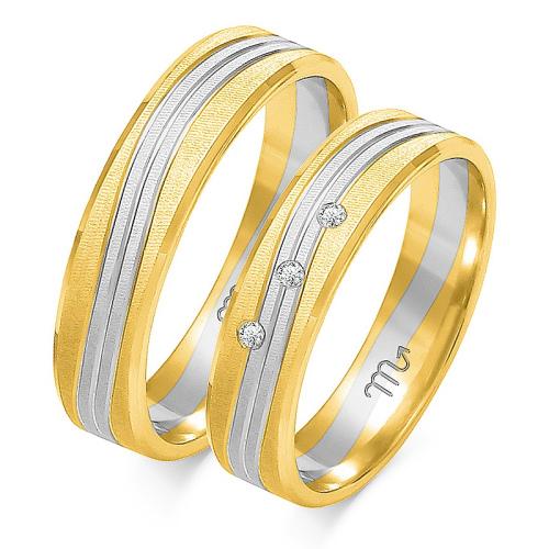 Obrączki ślubne Złoty Skorpion wzór OE-220 5mm pr. 585