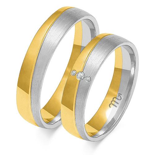 Obrączki ślubne Złoty Skorpion wzór OE-215 5mm pr. 585