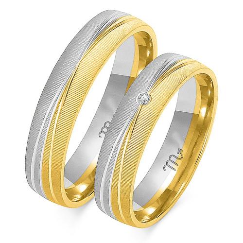 Obrączki ślubne Złoty Skorpion wzór OE-214 5mm pr. 585