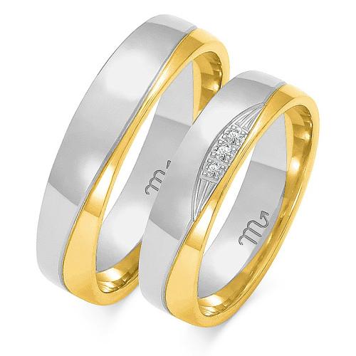 Obrączki ślubne Złoty Skorpion wzór OE-195 5mm pr. 585