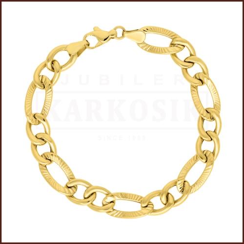 Złota Bransoletka 18cm pr. 333