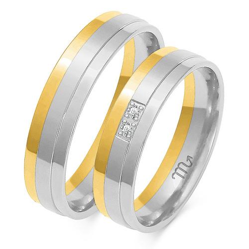 Obrączki ślubne Złoty Skorpion wzór OE-181 5mm pr. 585