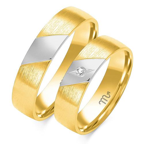 Obrączki ślubne Złoty Skorpion wzór OE-179 5mm pr. 585