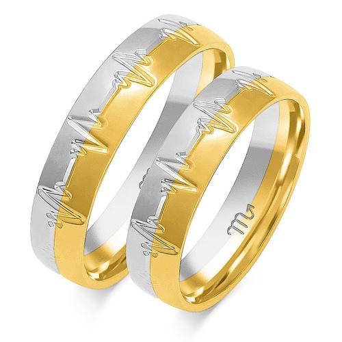 Obrączki ślubne Złoty Skorpion wzór OE-168 5mm pr. 585