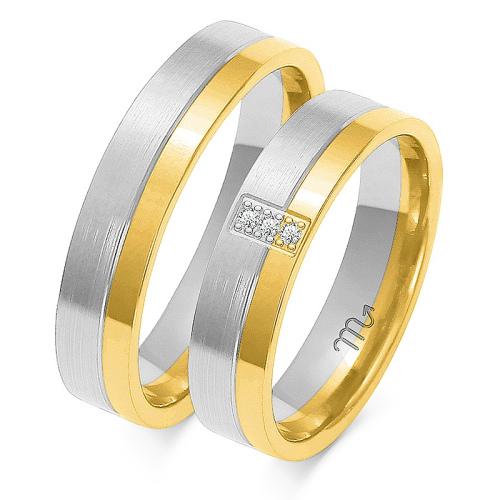 Obrączki ślubne Złoty Skorpion wzór OE-159 5mm pr. 585