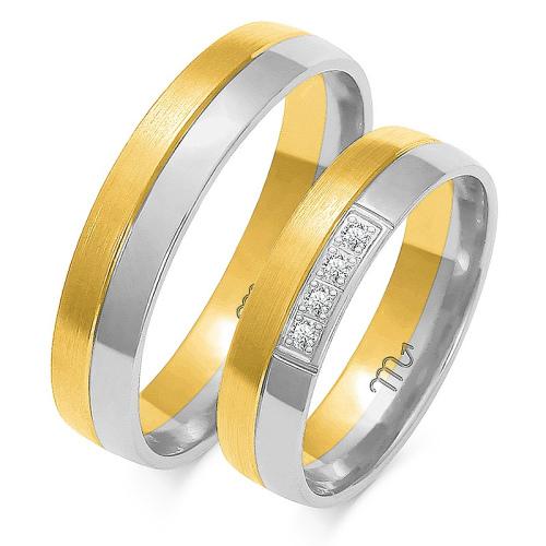 Obrączki ślubne Złoty Skorpion wzór OE-117 5mm pr. 585