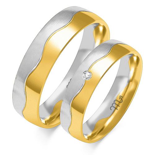 Obrączki ślubne Złoty Skorpion wzór OE-93 5mm pr. 585