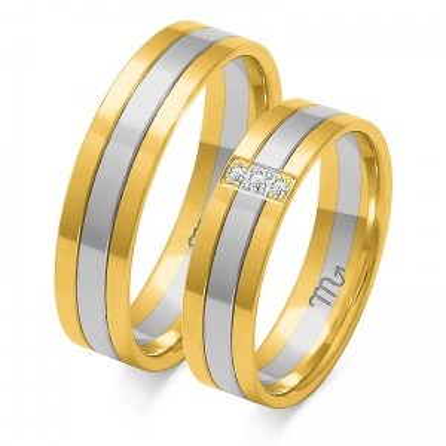 Obrączki ślubne Złoty Skorpion wzór OE-33 5mm pr. 585
