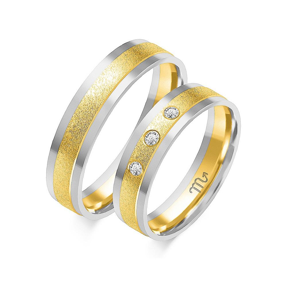 Obrączki ślubne Złoty Skorpion wzór OE-20 5mm pr. 585