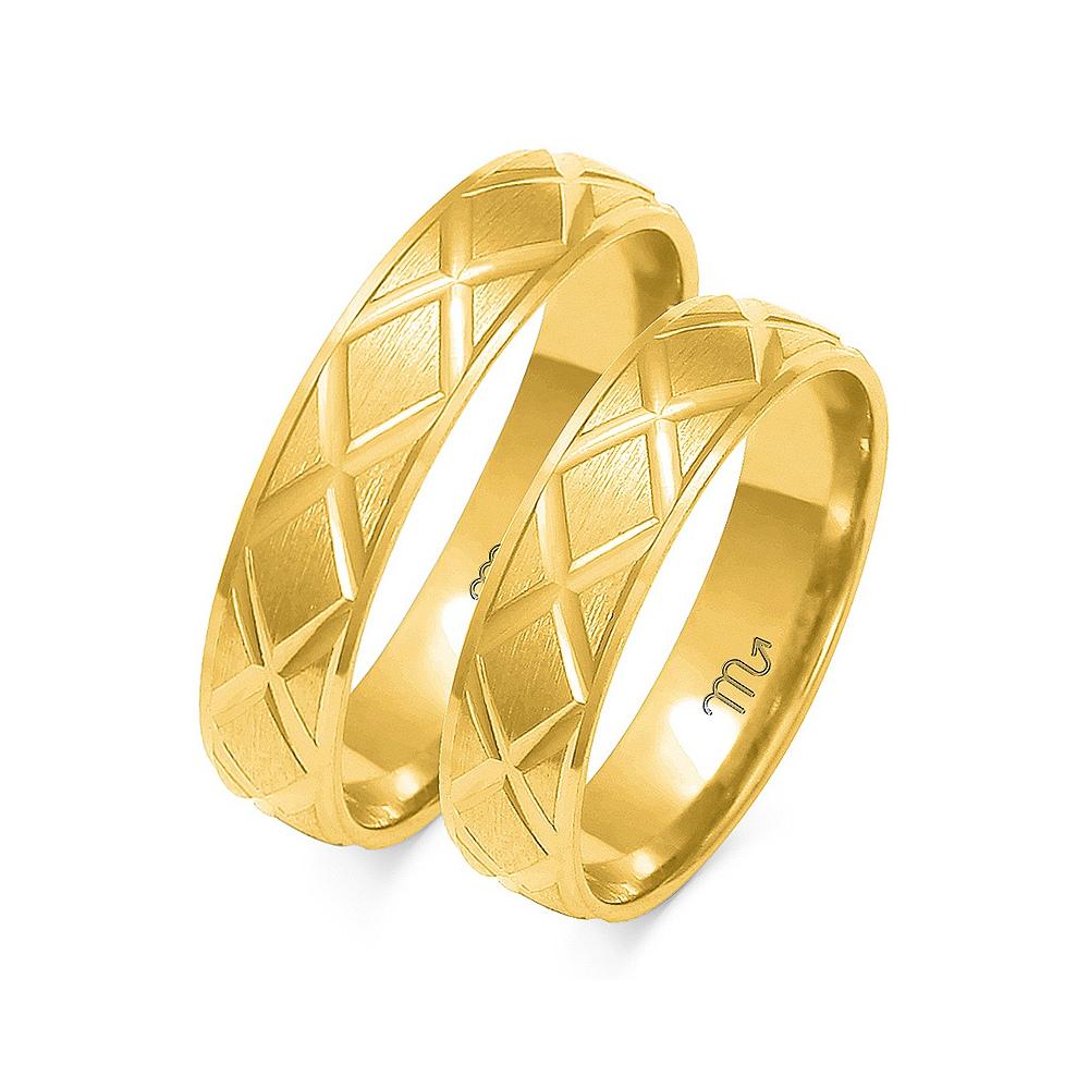 Obrączki ślubne Złoty Skorpion wzór O-71 5mm pr. 585