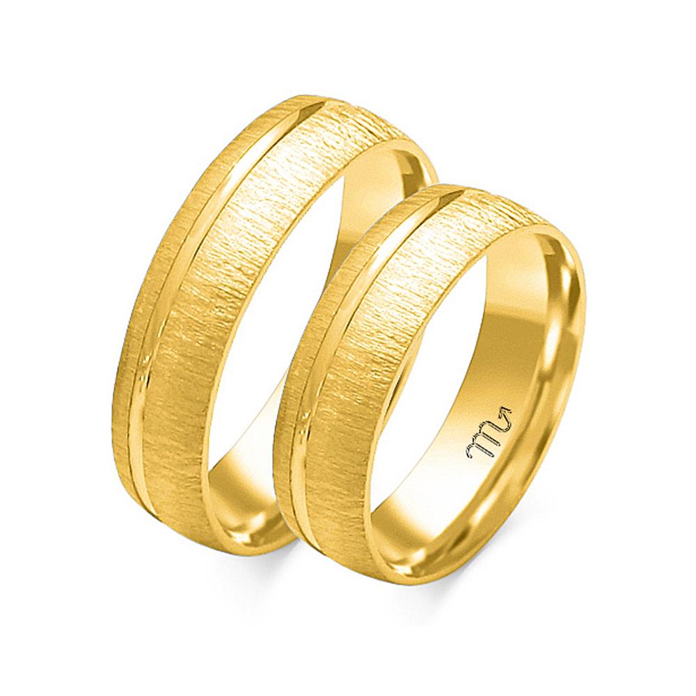 Obrączki ślubne Złoty Skorpion wzór O-46 5mm pr. 585
