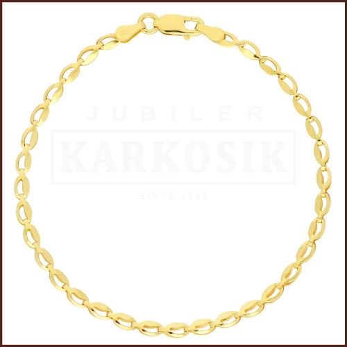 Złota Bransoletka 19cm pr. 585