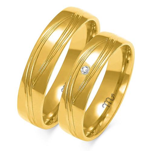 Obrączki ślubne Złoty Skorpion wzór A-142 5mm pr. 333