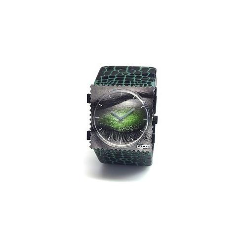 Bransoleta STAMPS - Belta Snake Green 103802/3000