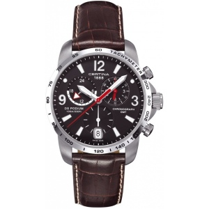 Certina C001 639 16 057 00 DS Podium GMT