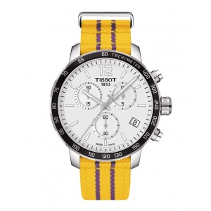 Tissot T095.417.17.037.05 QUICKSTER Special Edition Los Angeles Lakers