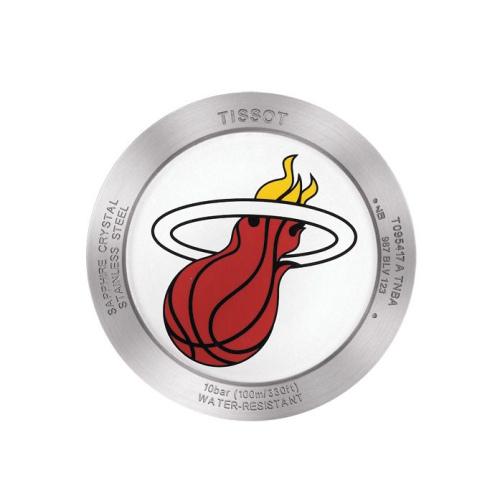Tissot T095.417.17.037.08 QUICKSTER Special Edition Miami Heat