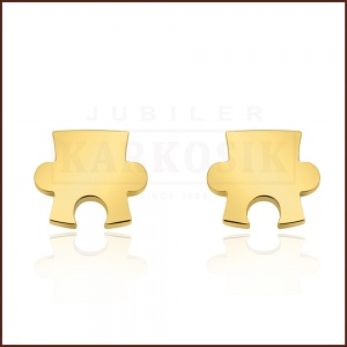 Pozłacane kolczyki - Puzzle