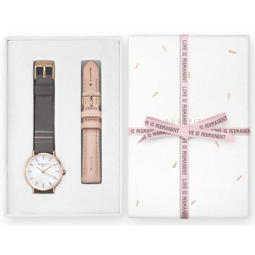 Zegarek Damski Rosefield WGSBE-X190 Zestaw Prezenetowy na Dzień Matki