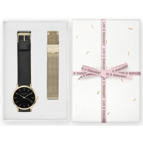 Zegarek Damski Rosefield GBSMG-X200 Zestaw Prezenetowy na Dzień Matki