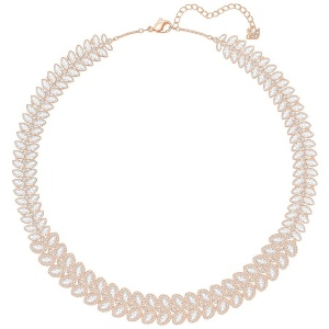 Naszyjnik SWAROVSKI - Baron Necklace, White, Rose gold 5350615