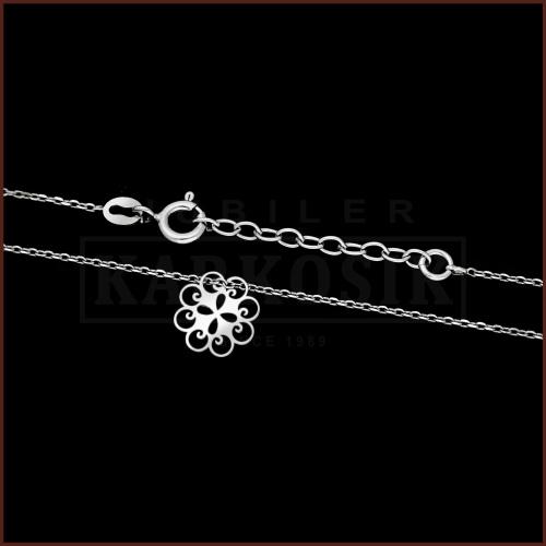 Srebrny Naszyjnik Celebrytka - Ażurowe Drzewko pr.925