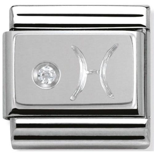 Nomination - Link 925 Silver 'Znak Zodiaku Ryby' 330302/12