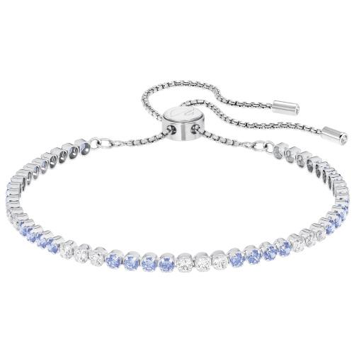 Bransoletka SWAROVSKI -  Subtle Silver Blue 5253276
