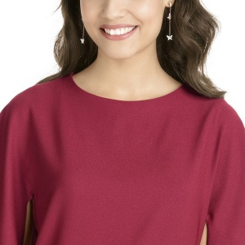 Kolczyki SWAROVSKI - Lilia Pierced Earrings, Rose gold 5382367