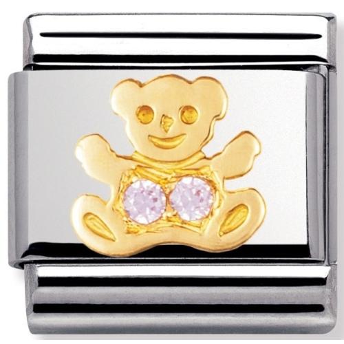 Nomination - Link 18K Gold 'Miś' 030304/06