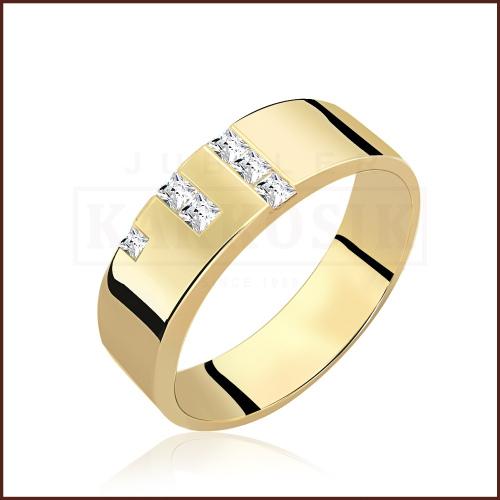Pierścionek zaręczynowy 585 złoto z brylantem 0,30ct - 16
