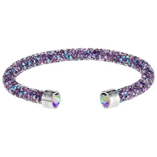 Bransoletka SWAROVSKI - Crystaldust, Purple 5385820 M