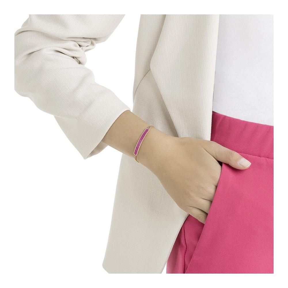 Bransoletka SWAROVSKI - Locket Bracelet, Rose Gold 5390255
