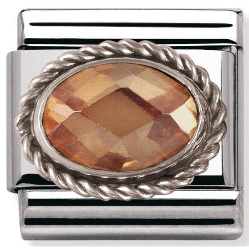 Nomination - Link 925 Silver 'Szampańska Cyrkonia' 030606/024