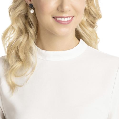 Kolczyki SWAROVSKI - Latisha Pierced Earring Jackets, Black 5389161