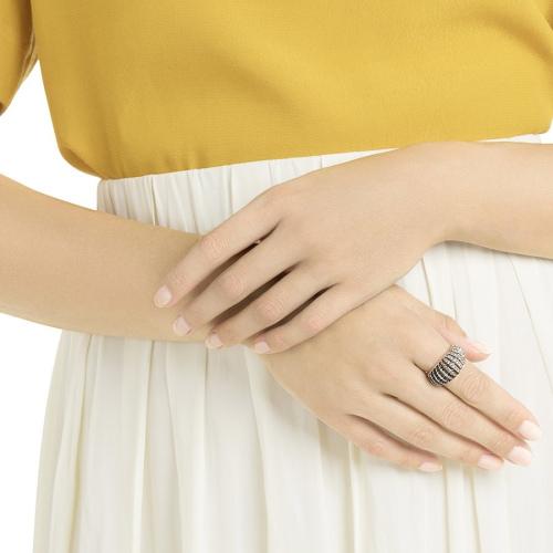 Pierścionek SWAROVSKI - Luxury Domed Ring 5412037 52