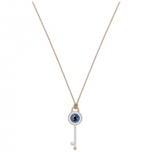 Naszyjnik SWAROVSKI - Duo Eye, Rose Gold 5437517