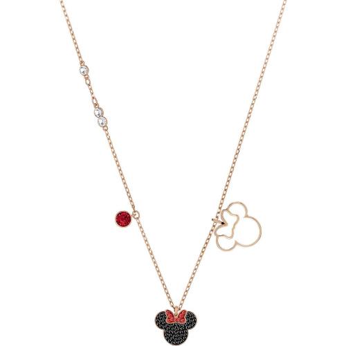 Naszyjnik SWAROVSKI - Mickey&Minnie, Rose Gold, Minnie 5429090